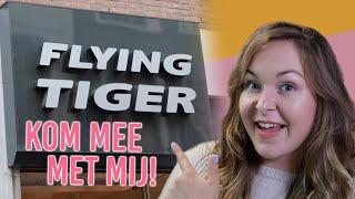 Kom mee met mij naar Flying Tiger! // + Shoplog!