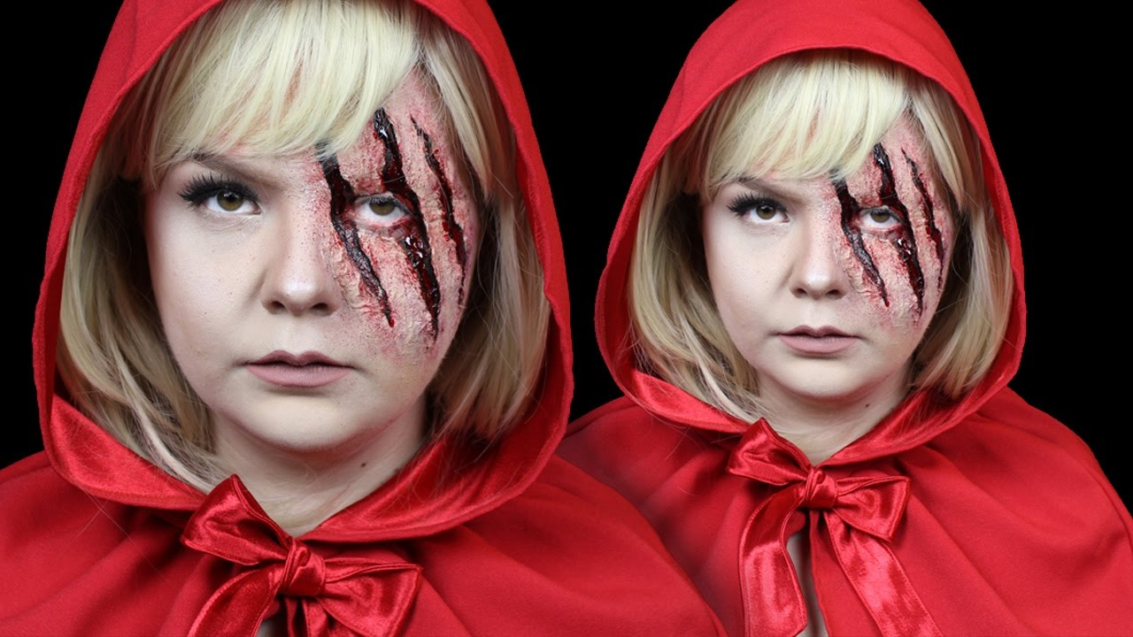 Little Red Riding Hood SFX Halloween Make-Up Tutorial ...