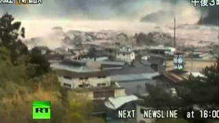 Worst tsunami ever Tsunami caught on camera video of giant tsunami giant waves