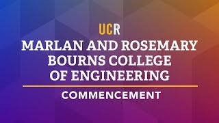 2018 UCR Commencement Ceremony - BCOE thumbnail