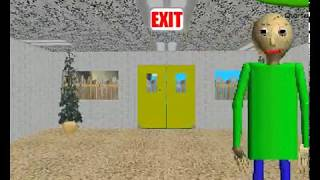 I plays Baldi's Basics in Education and Learning 1.3.1v.
