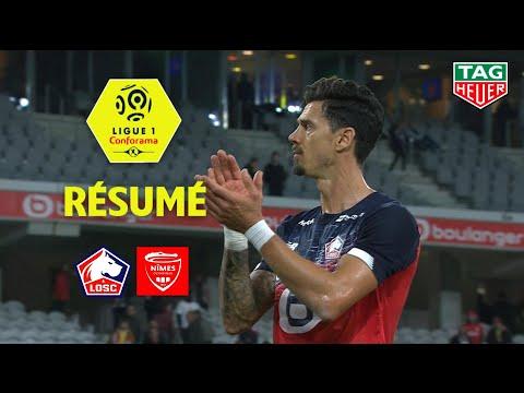 LOSC - Nîmes Olympique ( 2-2 ) - Résumé - (LOSC - NIMES) / 2019-20
