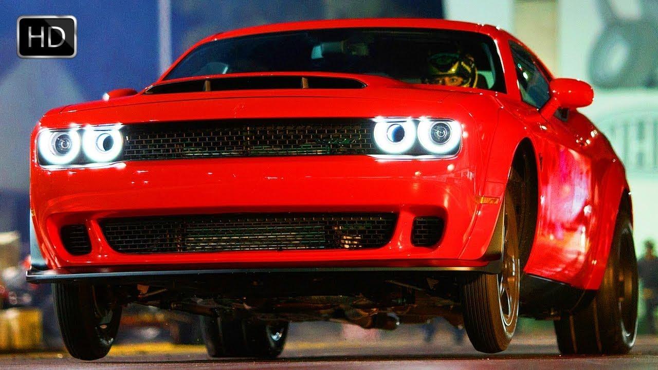 2018 Dodge Challenger SRT Demon Supercharged 6.2-liter ...
