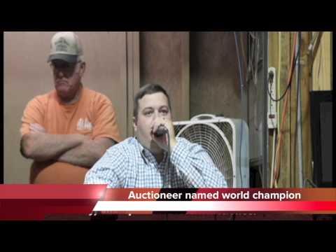 Brandon Neely named world champion livestock auctioneer