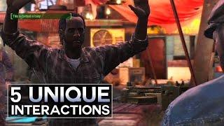 Fallout 4 - 5 Unique Interactions