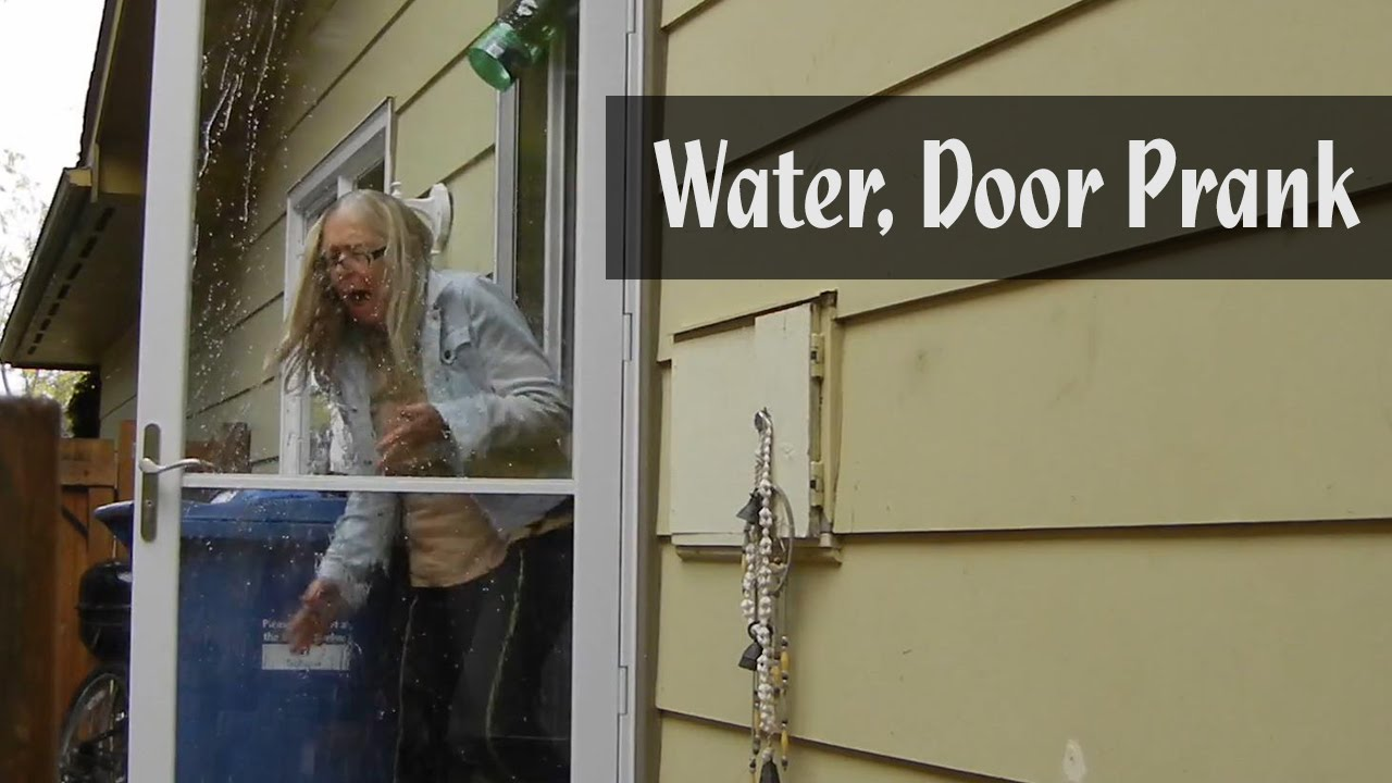 & Water Door Prank - YouTube