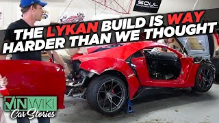 The Lykan project is WAY harder than we thought