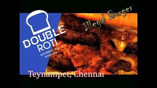 Double Roti - Best Sandwiches and Burgers |Teynampet Chennai | Food Shows | C-ALL