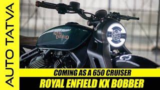 Royal Enfield KX Bobber    Biggest Royal Enfield Ever !   Hindi