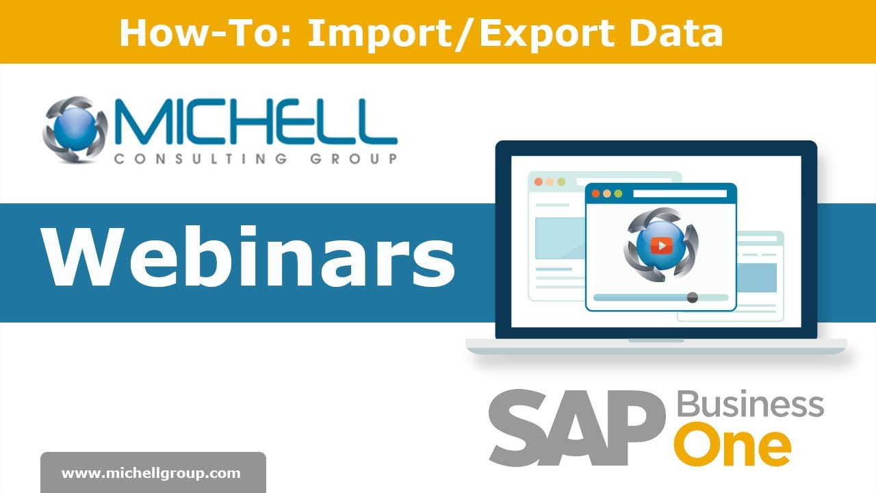 How-To: Import/Export Data in SAP Business One
