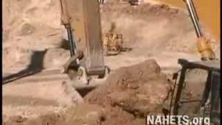 Heavy Equipment Training School Student Video Excavator