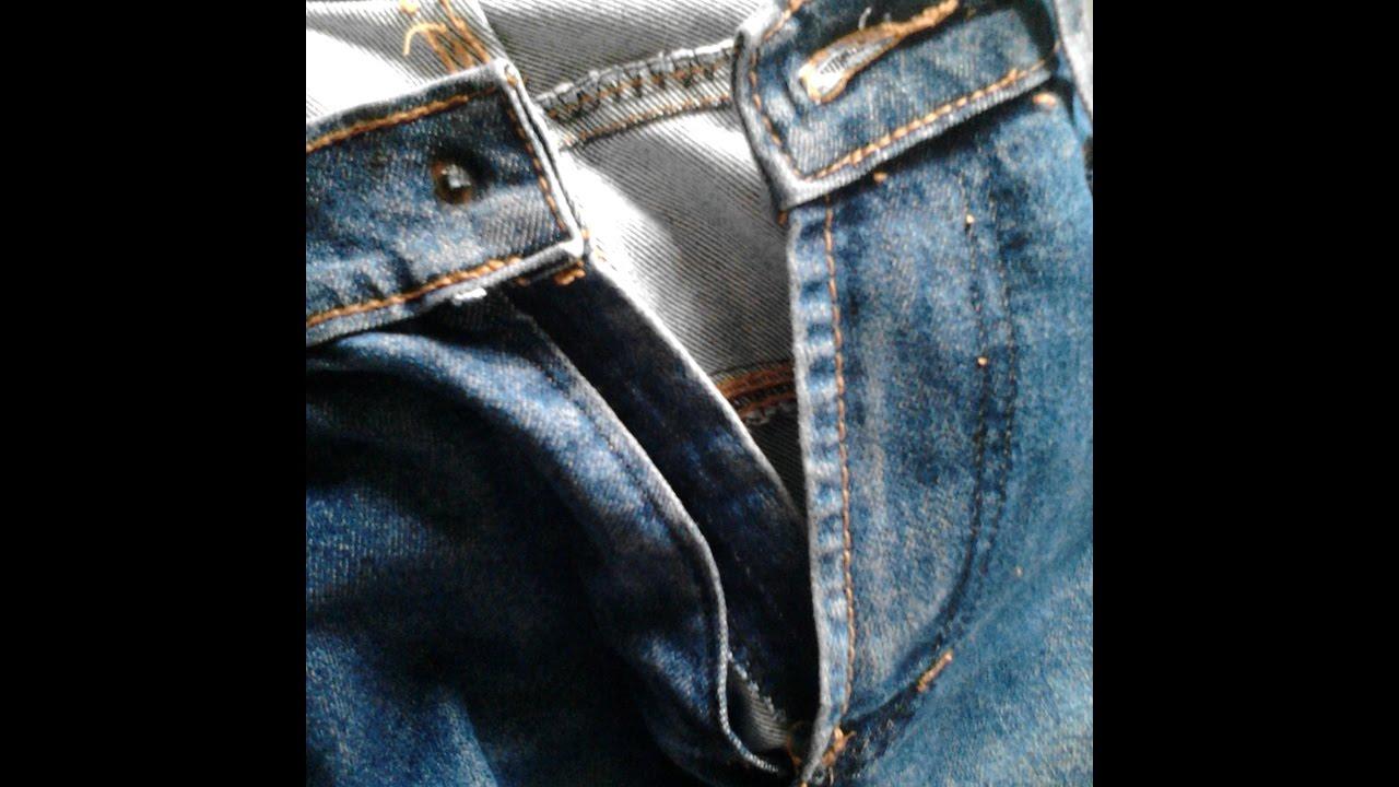 Cara Paling Mudah Memperbaiki Celana Jeans Youtube