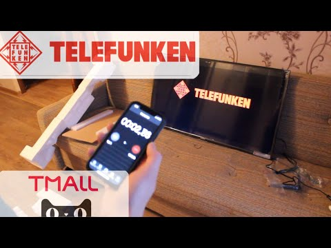 """SmartTV с TMALL за 15К! Telefunken TF-LED40S41T2S 40"""""""