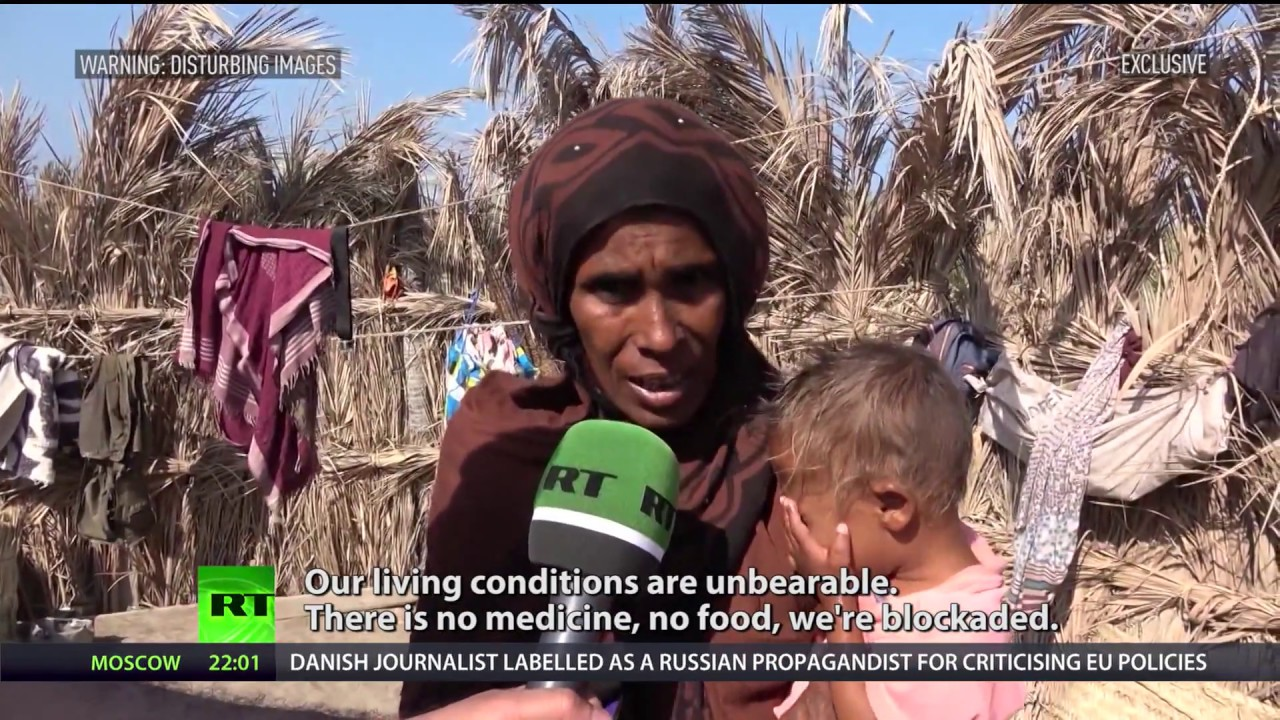Hungry for peace: Inside Yemeni village dying from starvation (Disturbing footage)