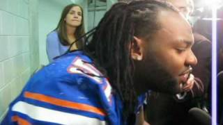 Florida LB Brandon Spikes Post Game vs. Alabama
