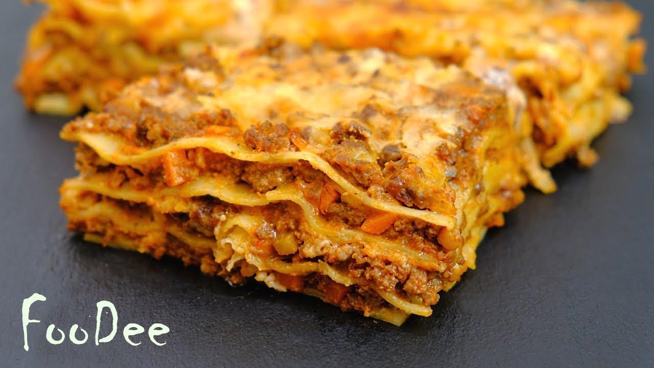Лазанья - доступный и простой рецепт / Запеканка Лазанья / Lasagne recipe EN