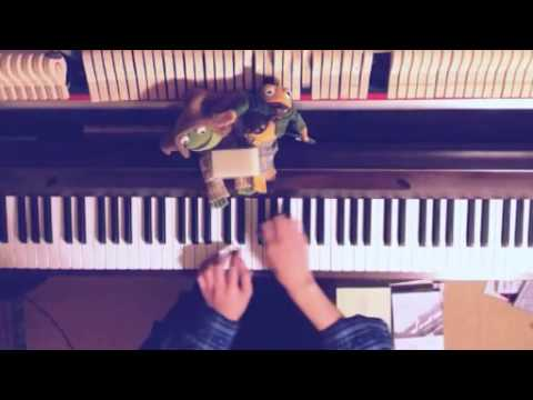 Tamako Market OP - Dramatic Market Ride piano cover