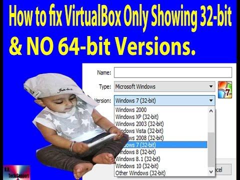 virtualbox 32 bit only