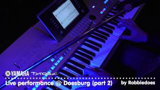 Repeat youtube video Tyros 4: Live optreden @ Doesburg 2012 (part 2)