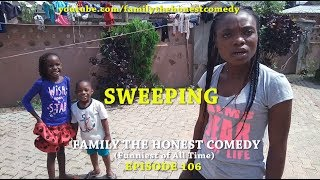 AFRICAN FUNNY VIDEO (SWEEPING) (Family The Honest Comedy) (Episode 106)