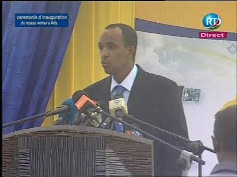 Discours du Directeur General de Djibouti Telecom Idriss Ismaïl Aouled, lors de la Ceremonie d'ina