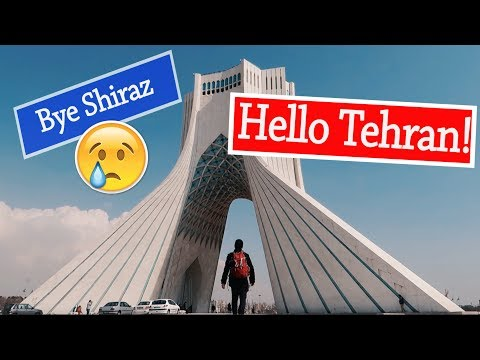 IRAN VLOG #13: SHIRAZ & TEHRAN | Tomb of Hafez & Nasir Al Mulk Mosque