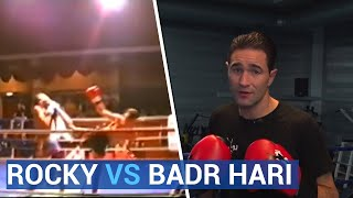 Deze Rocky trapte Badr Hari knock-out