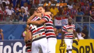 Brasileirão Série B 2015 - Bahia 1x2 Santa Cruz - Alexandre Costa