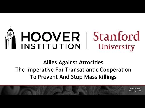 Allies Against Atrocities: The Imperative For Transatlantic Cooperation To Prevent Mass Killings