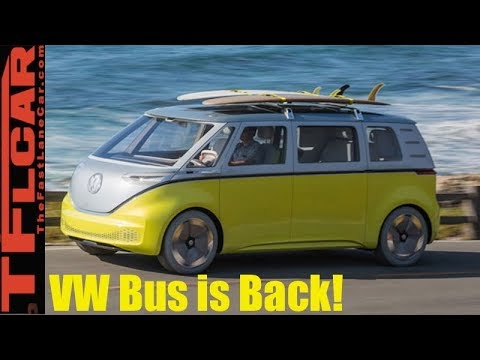 VW Bus Is Coming Back & New BMW Z4 Debuts : TFLnews Roundup