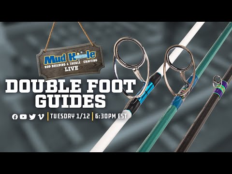 Mud Hole Live: Double Foot Guides on Tuesday, 1/12 at 6:30 PM EST