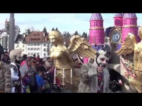 Карнавалы-2014. 3.Люцерн. Карнавальное шествие.