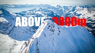 Above 3000m (Aerial Video of Glacier 3000 on swiss alps in 4k )