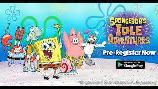 SpongeBob's Idle Adventures Pre-Registration Gameplay Trailer