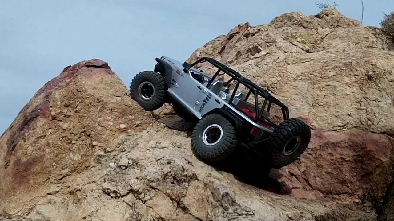 Wrangler Rubicon Tuning >> Axial Jeep Wrangler Unlimited Rubicon Extreme 2 - YouTube