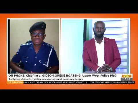 Wa Jammiat School: Analyzing students – police accusations and counter-charges (22-6-21)
