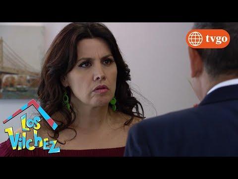 ¡María Elena se reencuentra con su primer amor! - Los Vílchez 06/02/2019