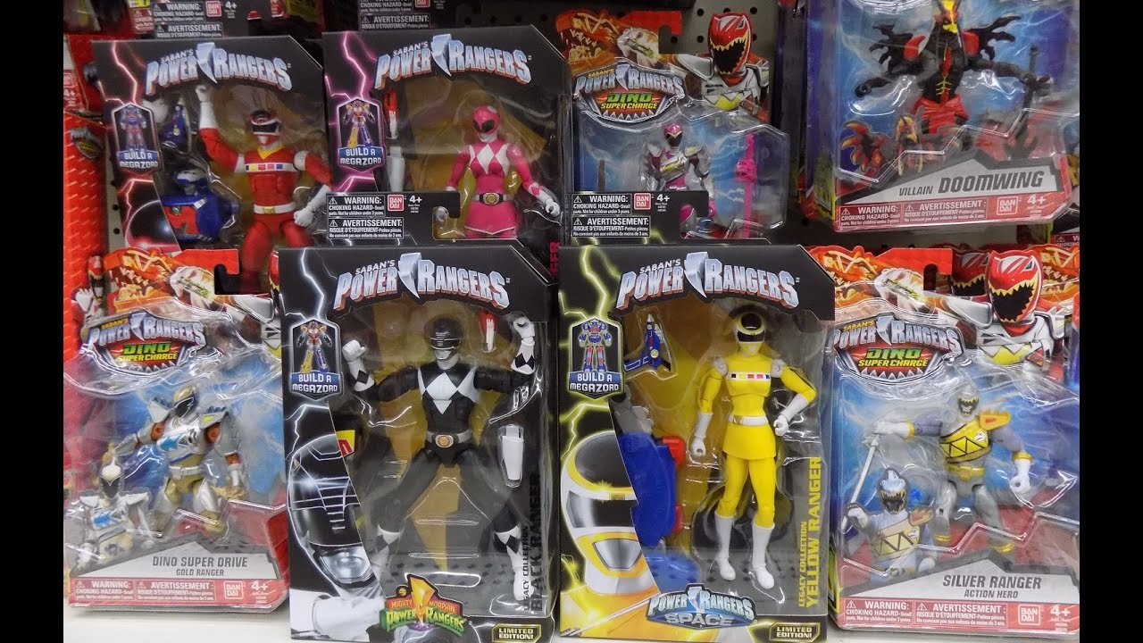 power rangers dino super charge 14th toy hunt silver ranger dino super drive figures more youtube power rangers dino super charge 14th toy hunt silver ranger dino super drive figures more