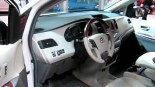 2011 Toyota Sienna at Toronto Auto Show 2010