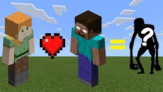 How to Breed Alex and Herobrine - Minecraft