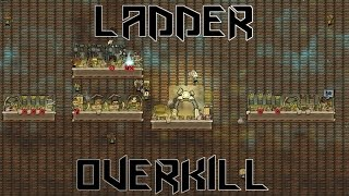 LADDER OVERKILL! - Oxygen Not Included Challenge