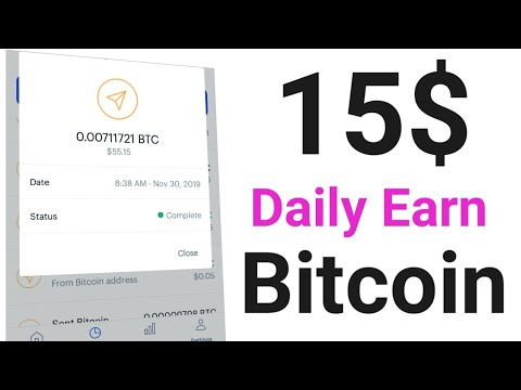 15$ Bitcoin Earn Daily || Best Bitcoin Earning Site 2020 With Proof