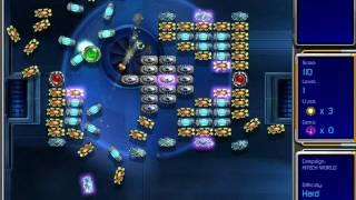 Hyperballoid 2: Time Rider gameplay, Hitech World Level 1 / Гиперболоид 2