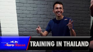 Alex Albon's Thailand Training Camp