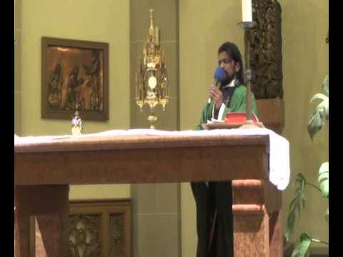 Holy Mass and Healing Prayers, Wuppertal,Germany  - By.Fr.Paul Robinson on 07-02-2014