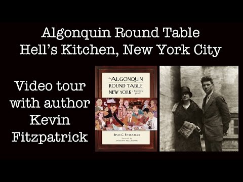 Algonquin Round Table New York: West 47th Street Home