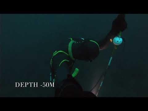 Freediving To The Bottom Of Saattopora (-50m)