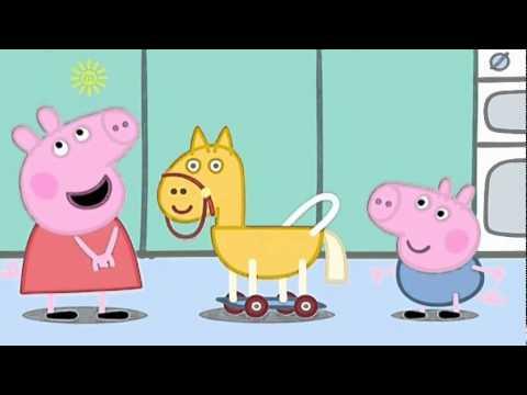 Свинка пепа коник