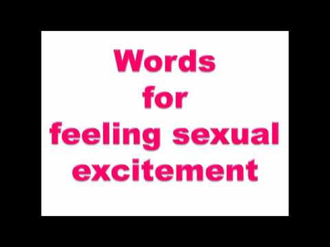 Sexually stimulating words