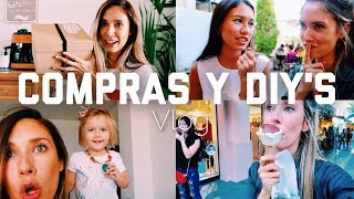 DE INCÓGNITO 😎 + COMPRAS E INTENTO DE DIY 😅 | happysunnyflowers